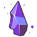 CHIPPED AMETHYST